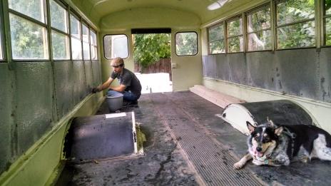 ryan scrubbing