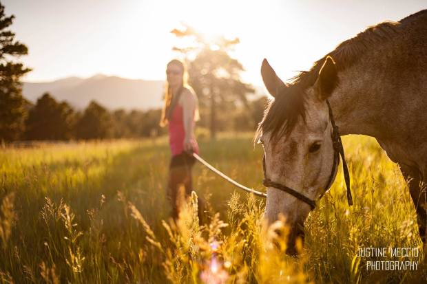 Photo shoot for my sister & her horse!