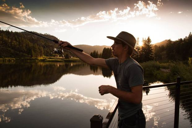 Fishing at Pine Valley Ranch Park