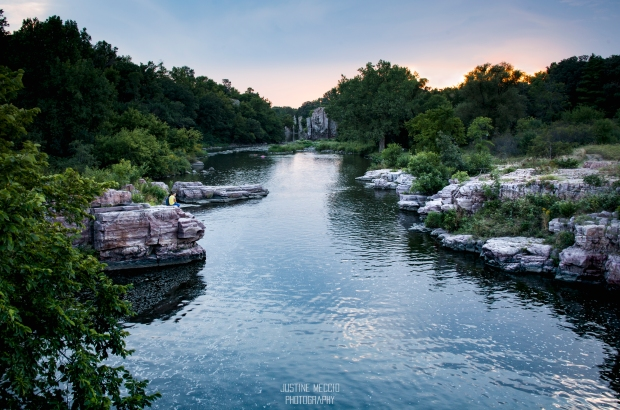 My favorite shot of the palisades & Split Rock Creek.