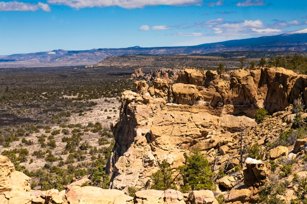Sandstone Bluffs Overlook El Malpais National Monument