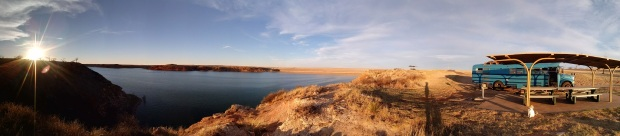 Camping at Lake Meredith in Fritch, TX