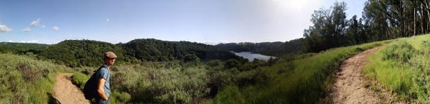Hiking at Anthony Chabot Regional Park