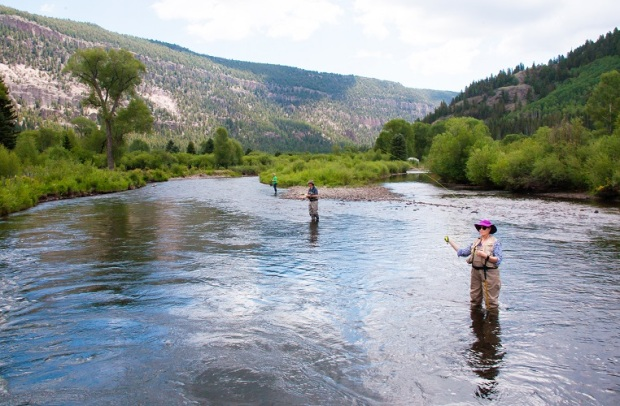 fly fishing conejos river co