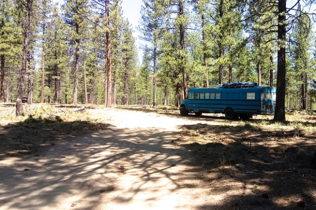 Dispersed Camping Deschutes National Forest OR