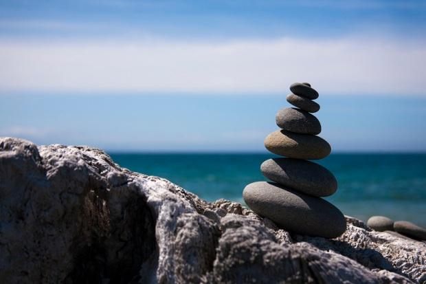 Stones Dungeness Spit Sequim WA